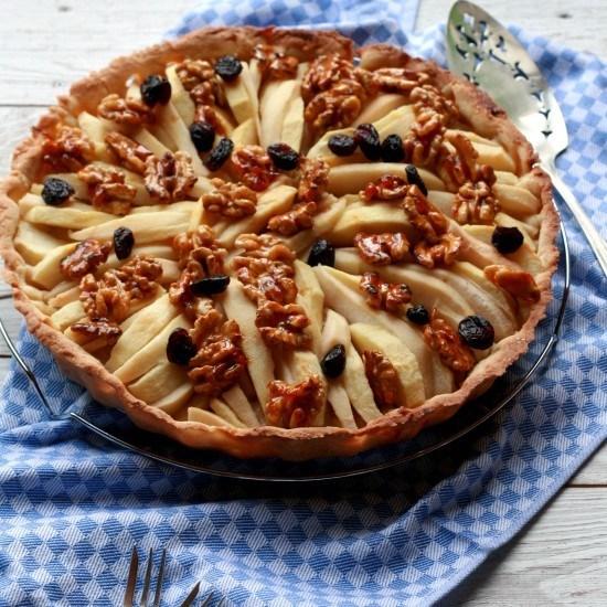 Rezept Apfel-Birnen-Tarte