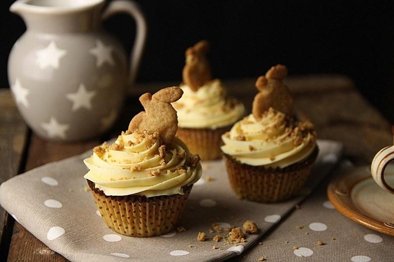 Rezept Apfel Crumble Muffins