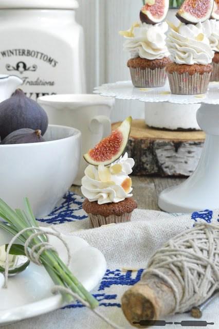 Rezept Apfel Cupcakes mit Zimt Topping