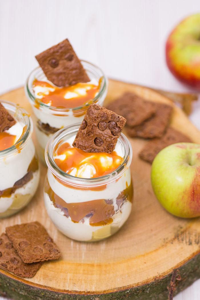 Rezept Apfel-Karamell-Dessert