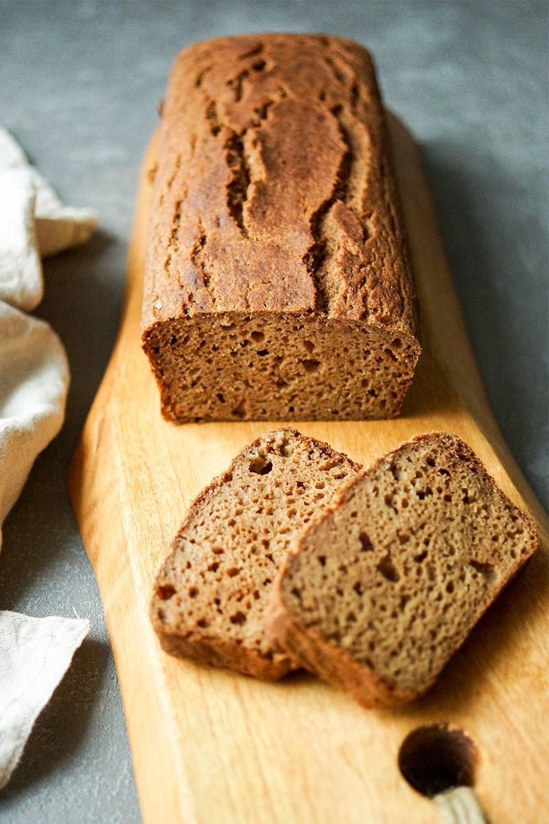 Rezept Apfel Kardamom Brot (glutenfrei)