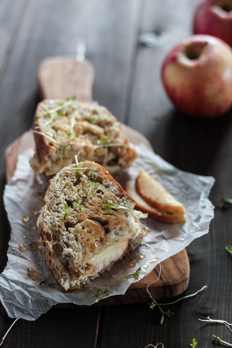 Rezept Apfel-Käse-Panini