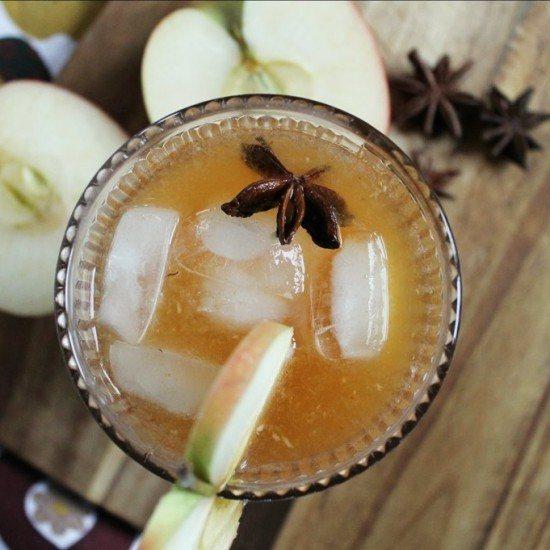Rezept Apfel-Kürbis-Cocktail