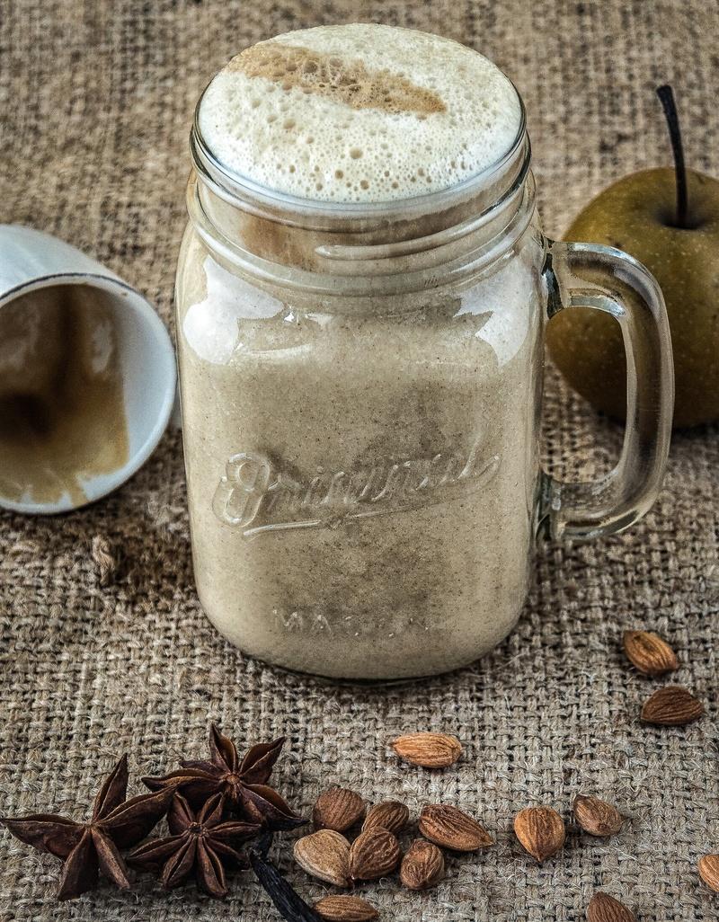 Rezept Apfel-Lebkuchen Latte