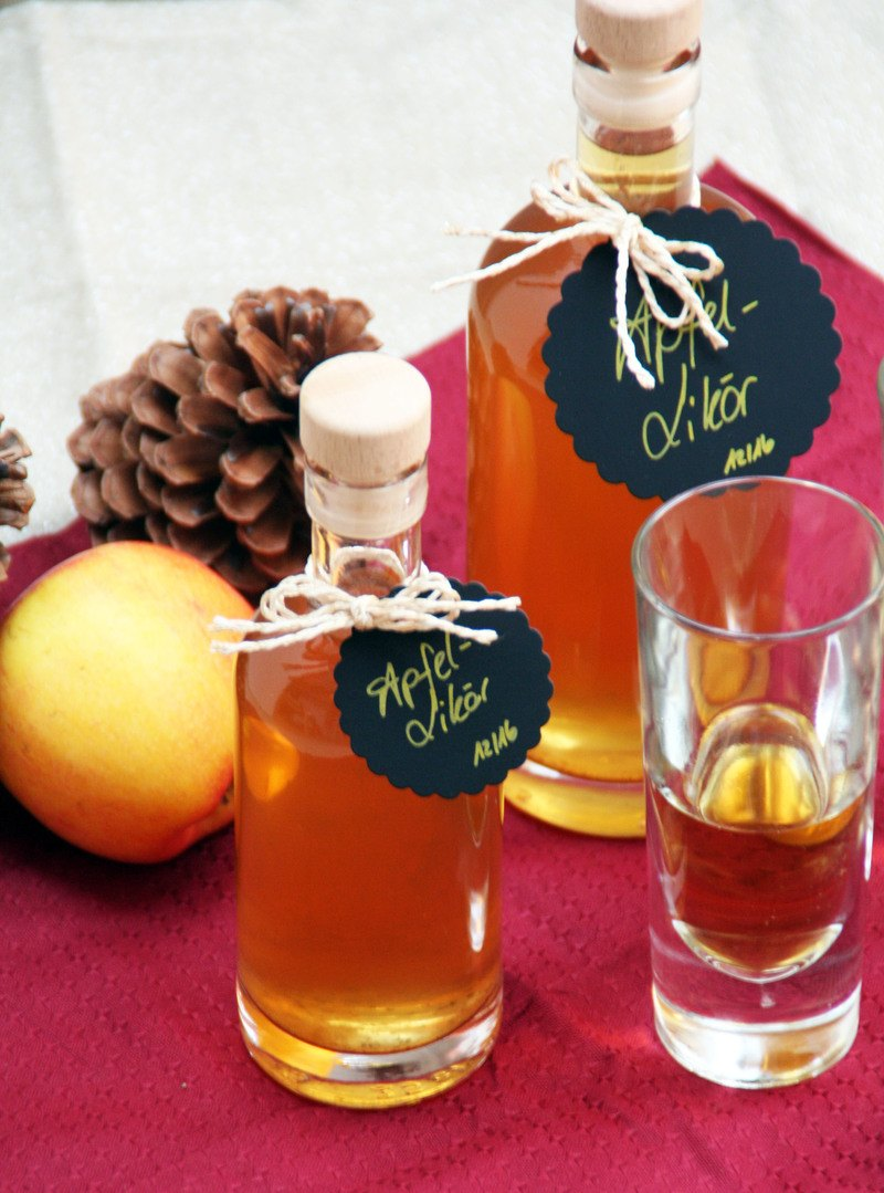 Rezept Apfel-Likör
