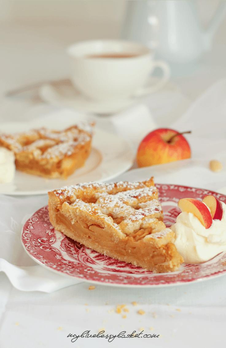 Rezept Apfel-Mandel Tarte