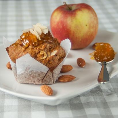 Rezept Apfel-Marzipan-Muffins