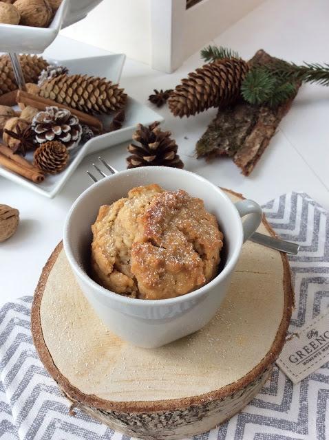 Rezept Apfel Marzipan Mug Cake