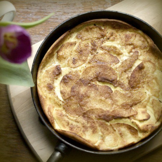 Rezept Apfel Pfannekuchen