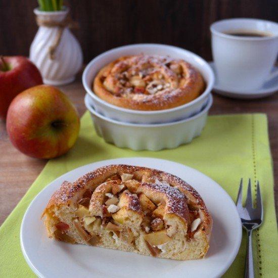 Rezept Apfel-Quark-Schnecken