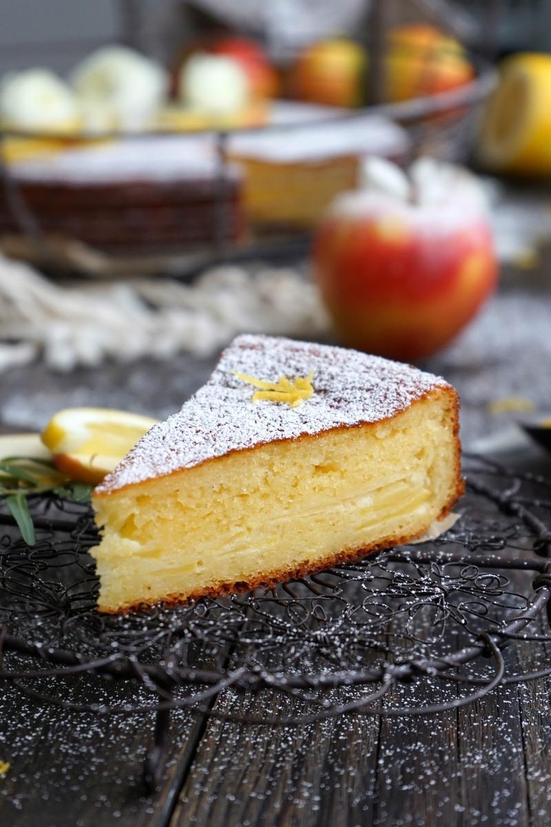 Rezept Apfel-Quarkkuchen in 20 Minuten gemacht!