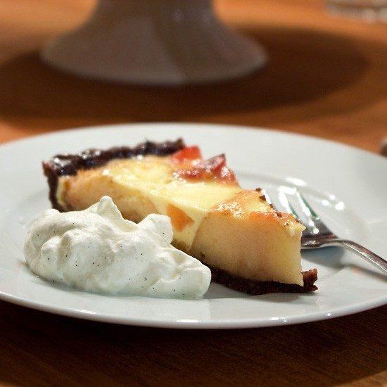 Rezept Apfel-Quitten-Tarte mit Vanillesahne