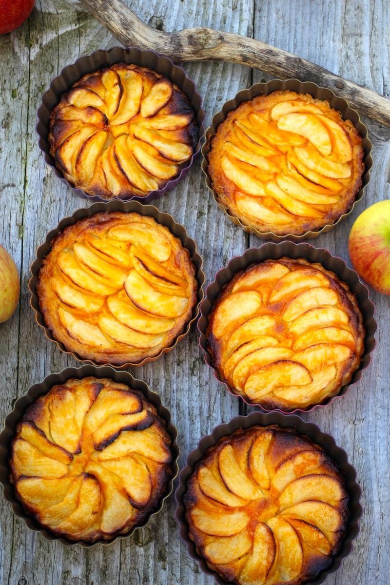 Rezept Apfel-Sanddorn-Tartelettes