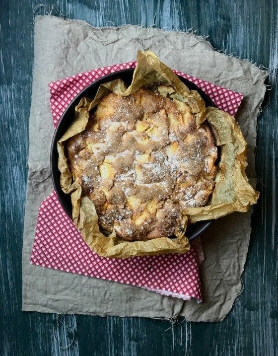 Rezept Apfel Scharlotka – russischer Apfelkuchen