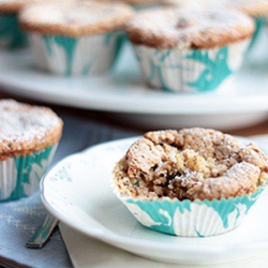 Rezept Apfel-Schoko-Nuss-Muffins