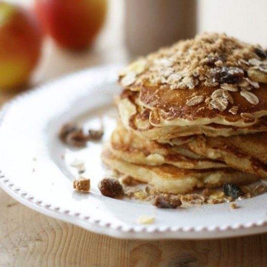 Rezept Apfel-Spekulatius-Pancakes