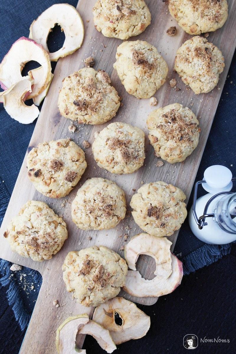 Rezept Apfel-Streusel-Kekse