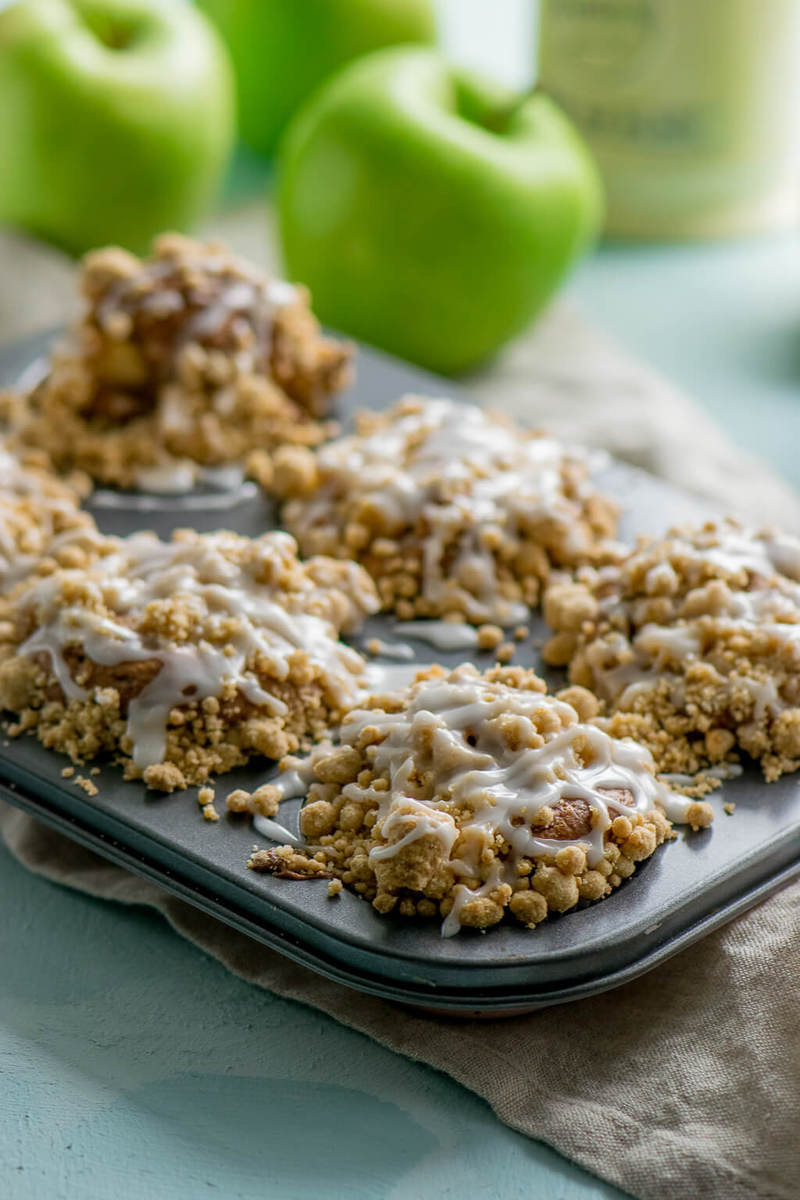 Rezept Apfel Streusel Muffins