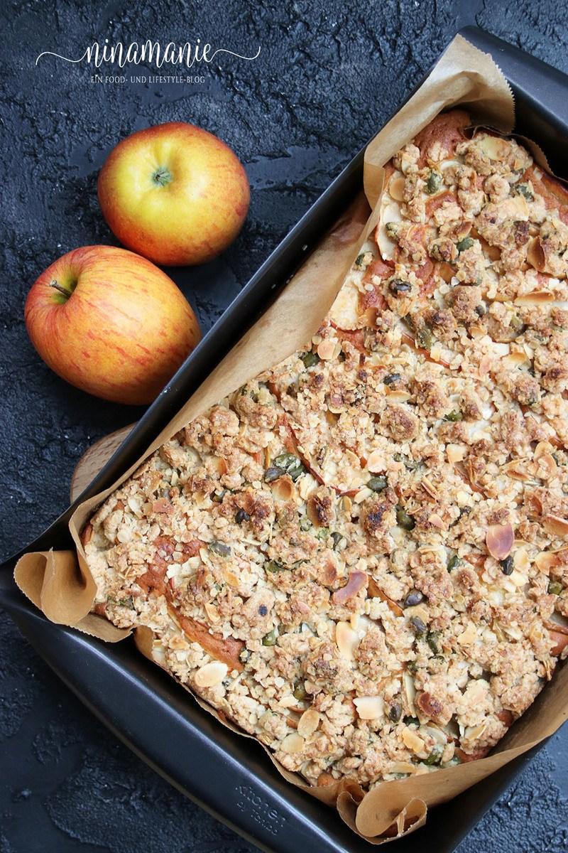 Rezept Apfel-Streusel-Rührkuchen