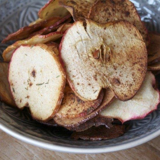 Rezept Apfel-Thymian Chips