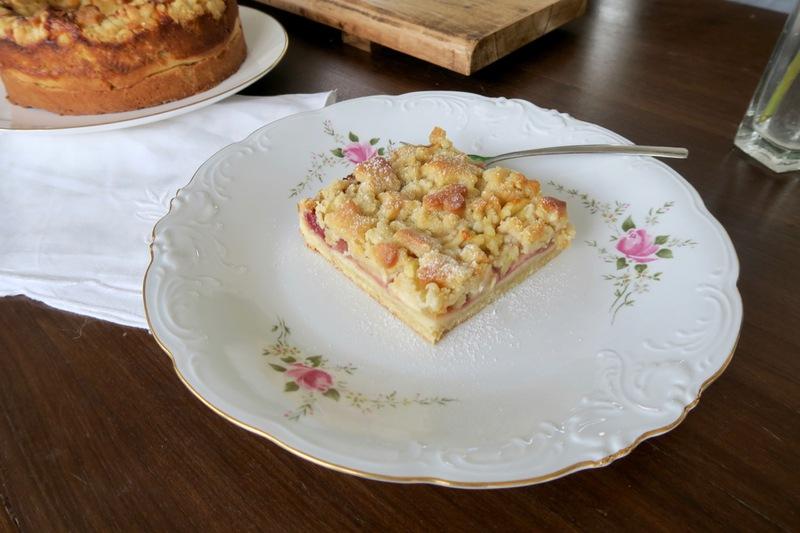 Rezept Apfel- und Topfenstreuselkuchen