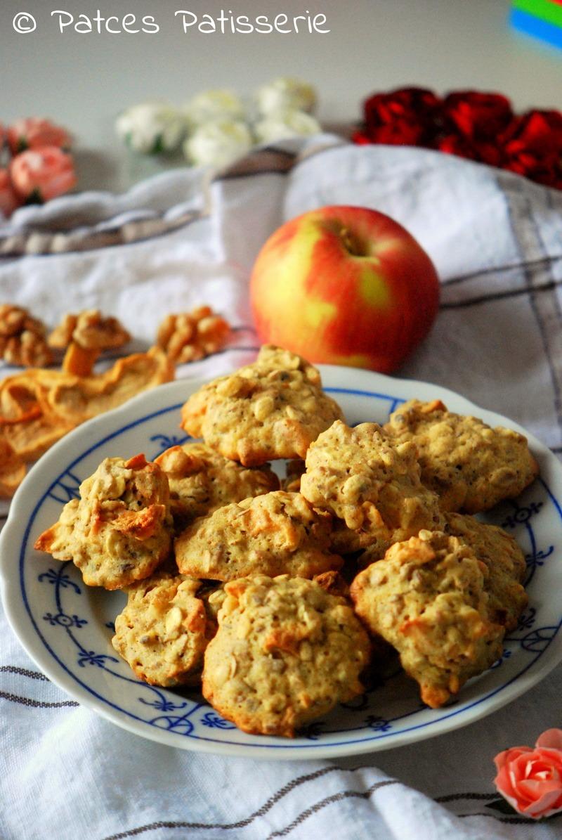Rezept Apfel-Walnuss-Cookies