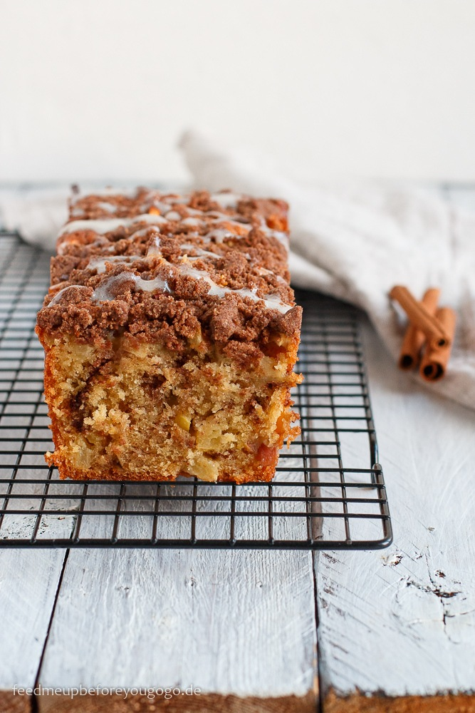 Rezept Apfel-Zimt-Kuchen mit Streuseln