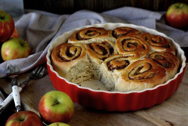 Rezept Apfel-Zimt-Schnecken