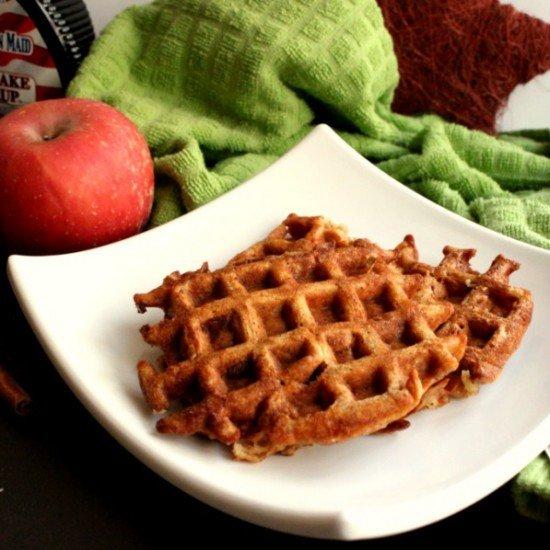 Rezept Apfel-Zimt Waffeln