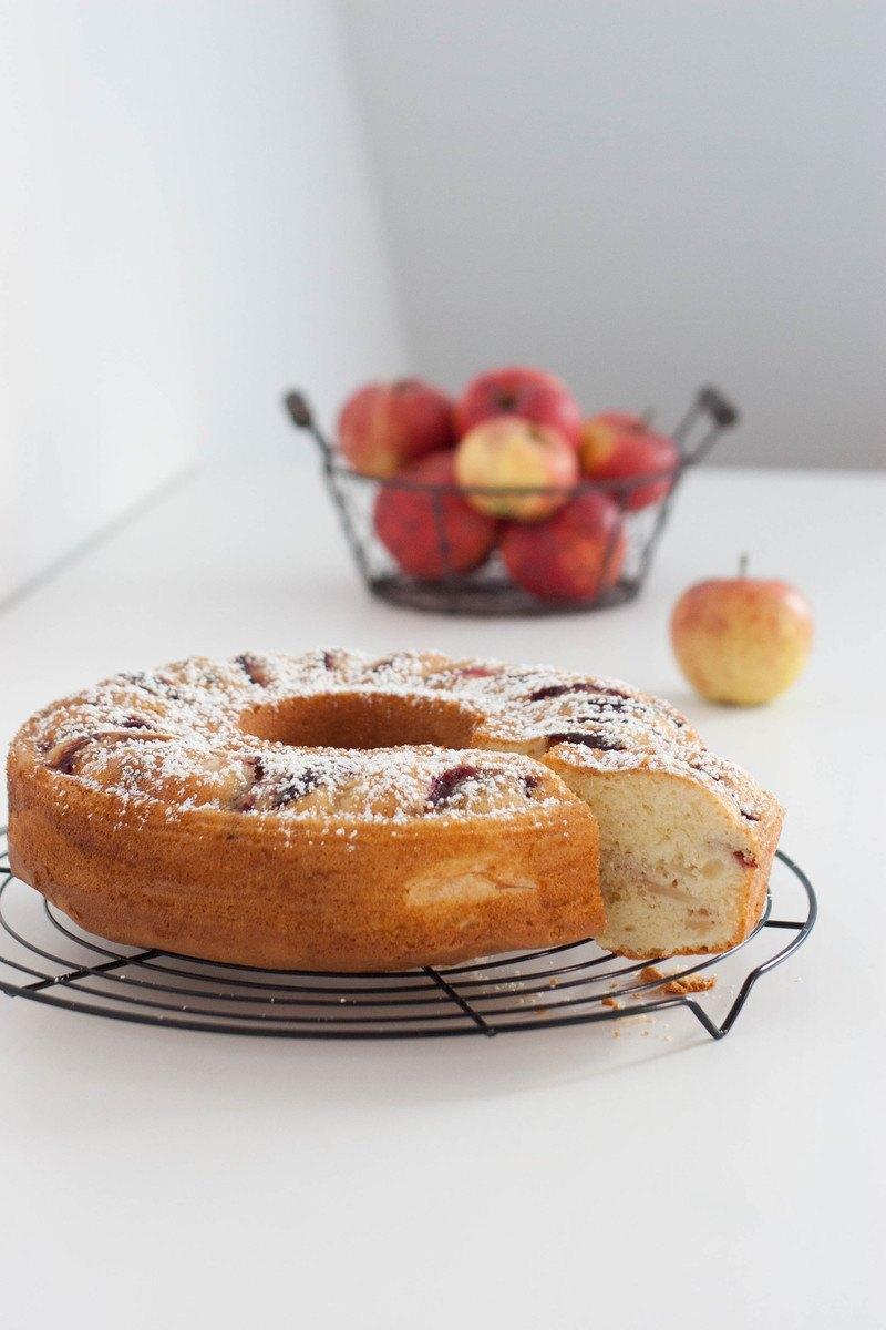 Rezept Apfel-Zwetschken-Kuchen
