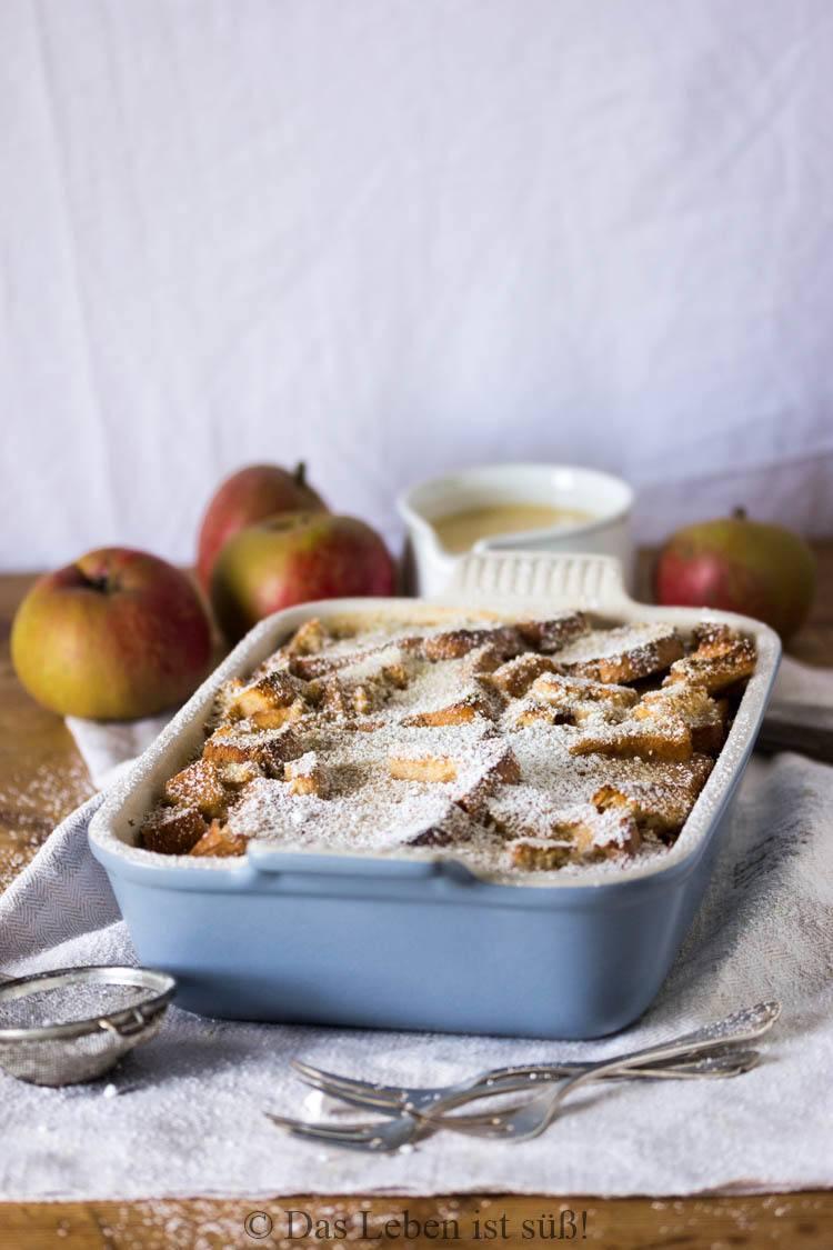 Rezept Apfel Zwieback Auflauf
