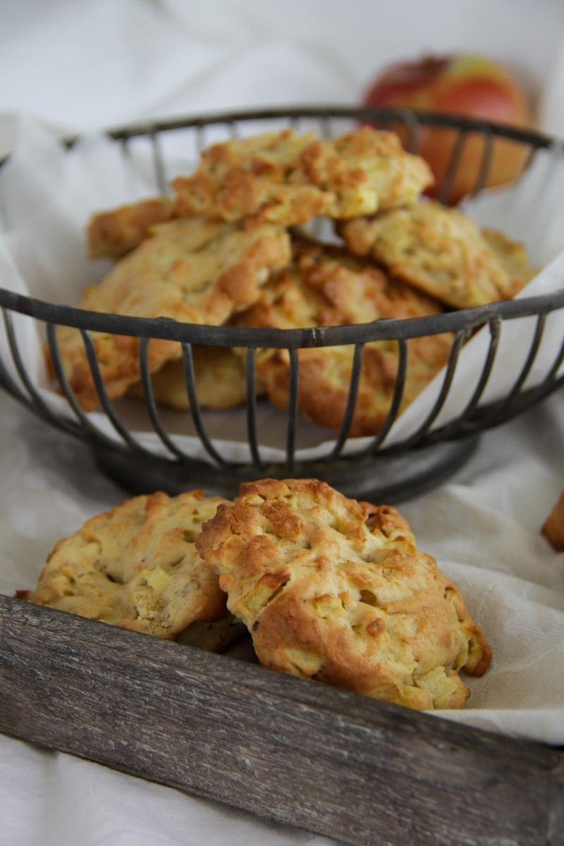 Rezept Apfelkekse mit Mandeln und Zimt