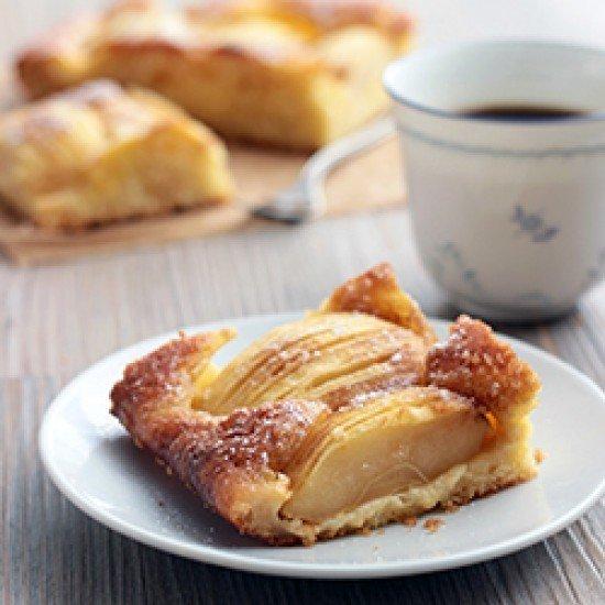 Rezept Apfelkuchen mit Karamellkruste