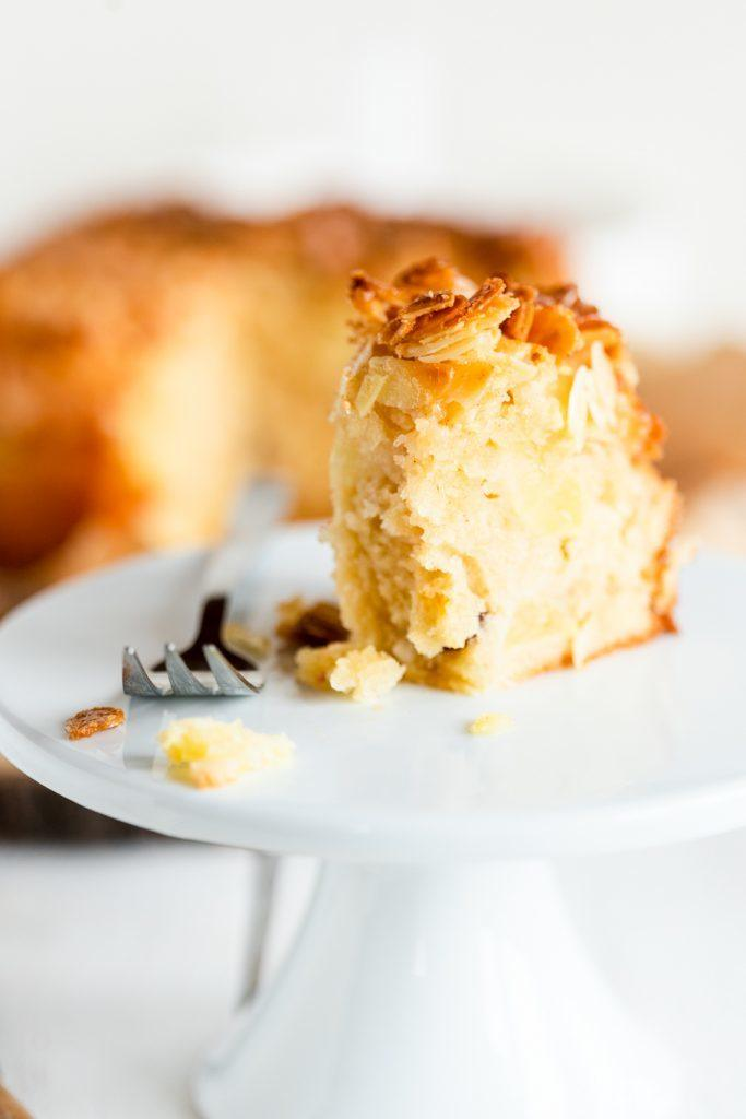 Rezept Apfelkuchen mit Mandelcrunch
