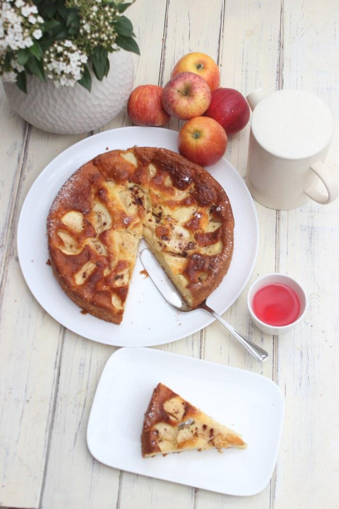Rezept Apfelkuchen mit Skyr – Saftig, einfach und schnell gemacht