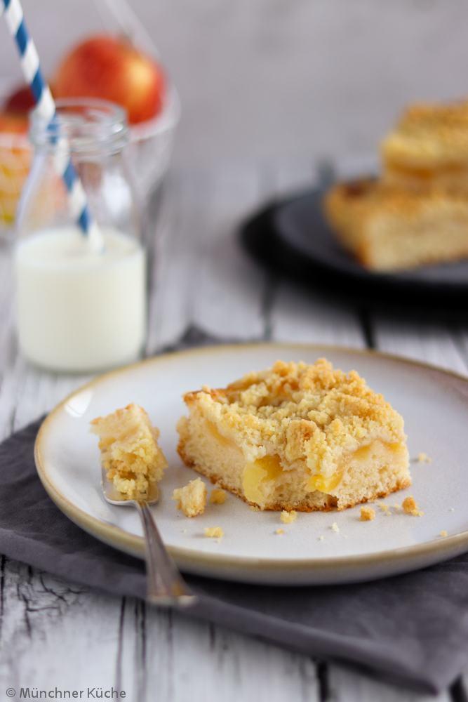 Rezept Apfelkuchen mit Streuseln