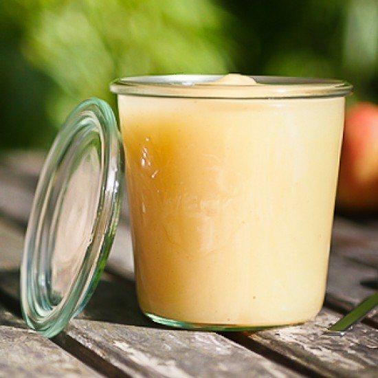 Rezept Apfelmus mit Limette und Vanille