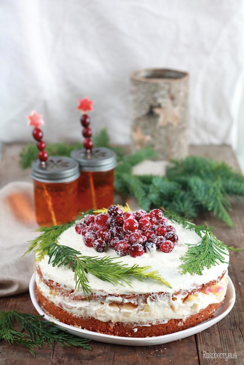 Rezept Apfelpunsch-Torte