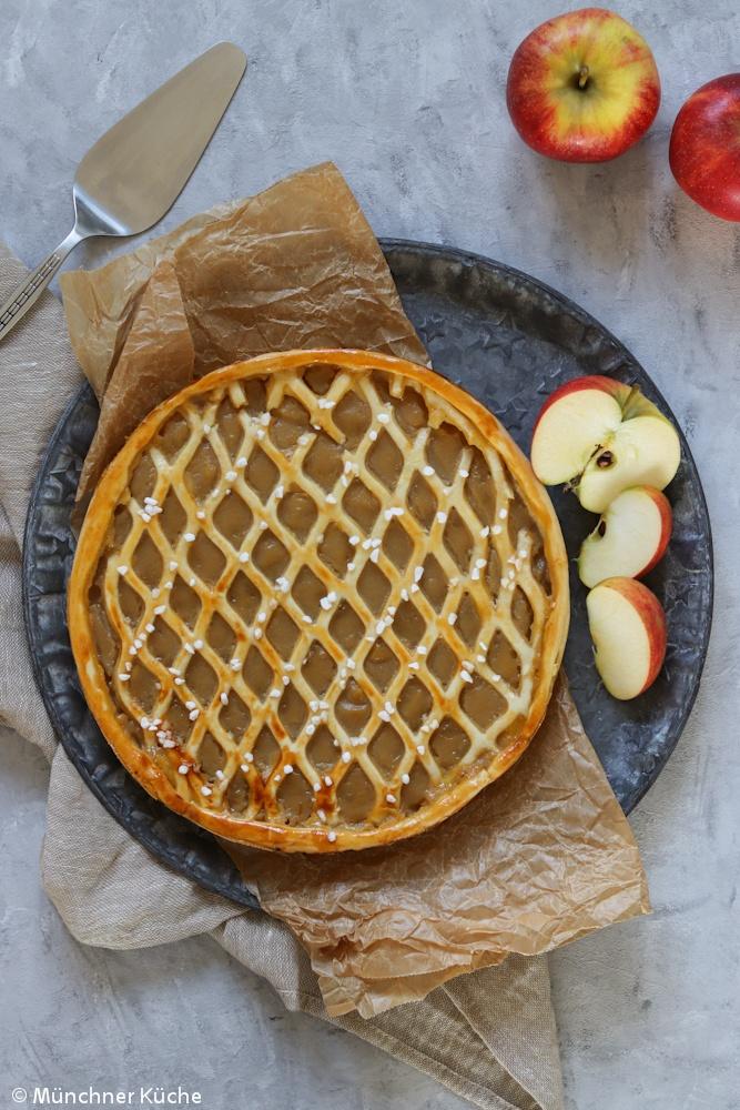 Rezept Apfelriemchen - rheinischer Apfelkuchen