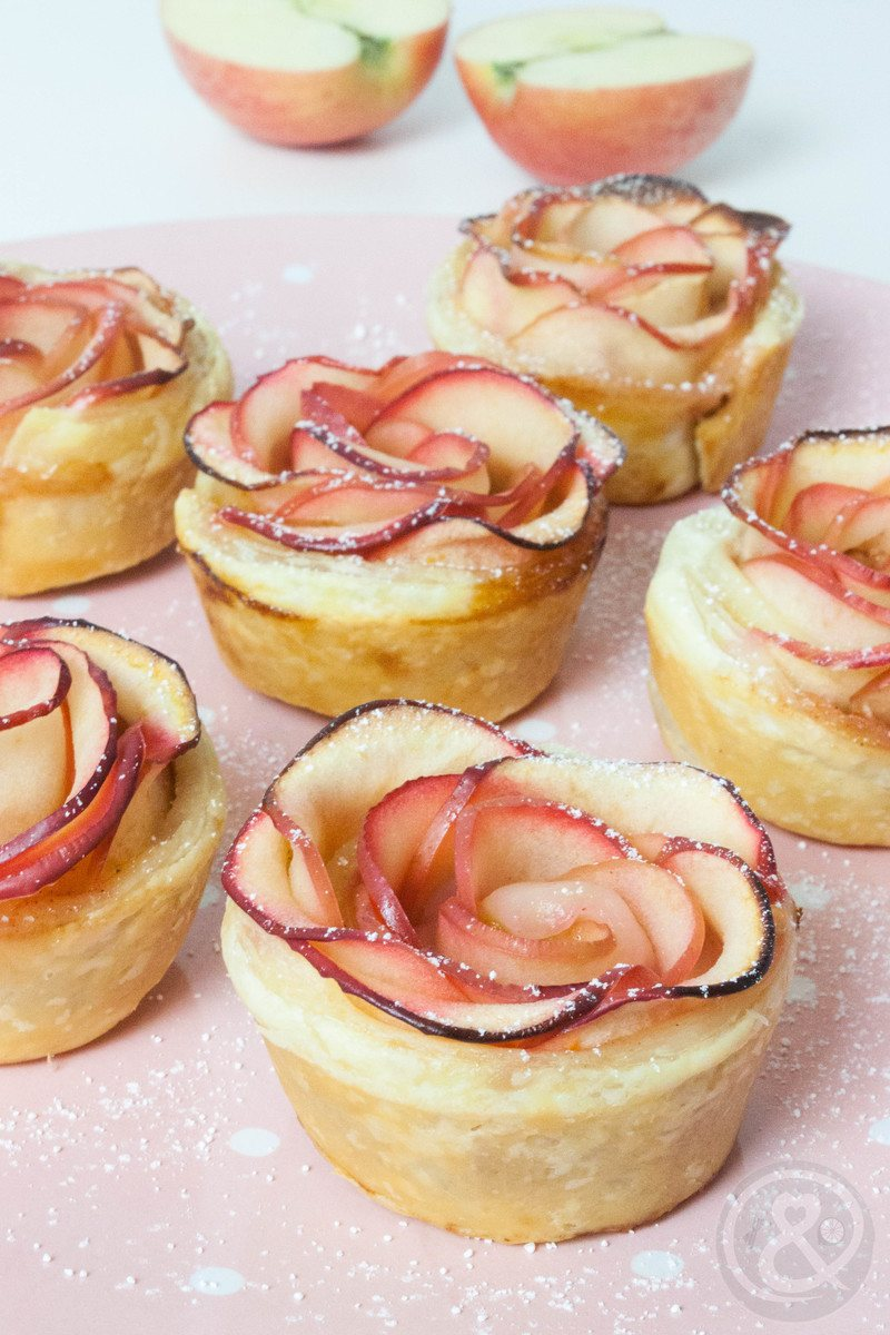 Rezept Apfelrosen