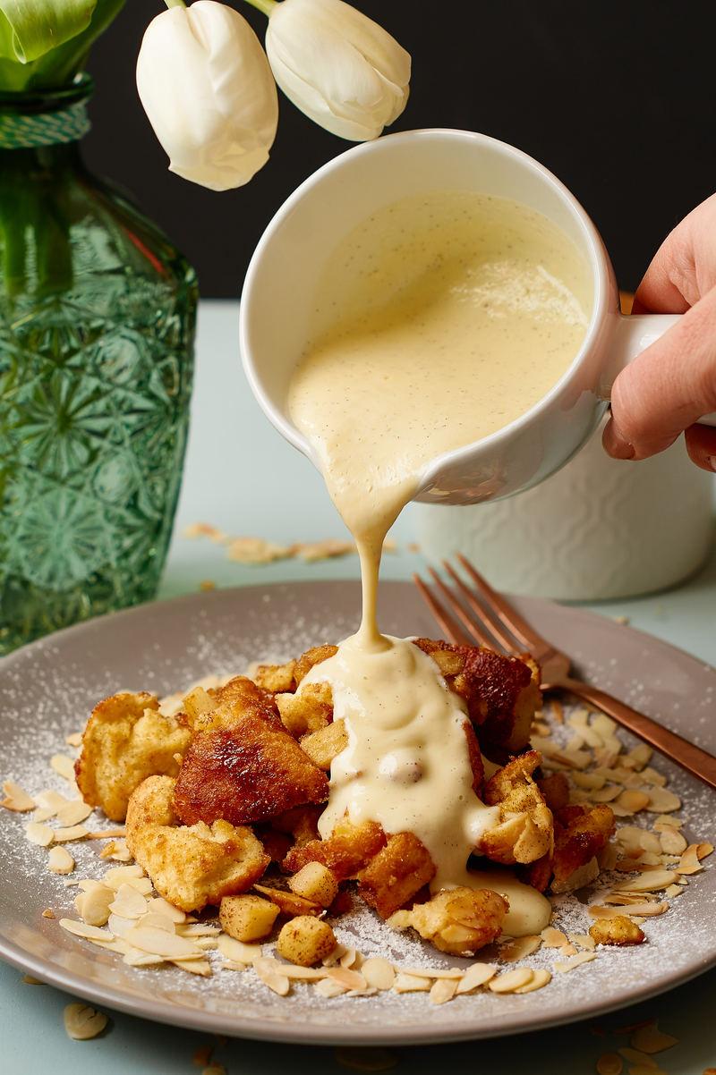 Rezept Apfelschmarrn mit Vanillesauce