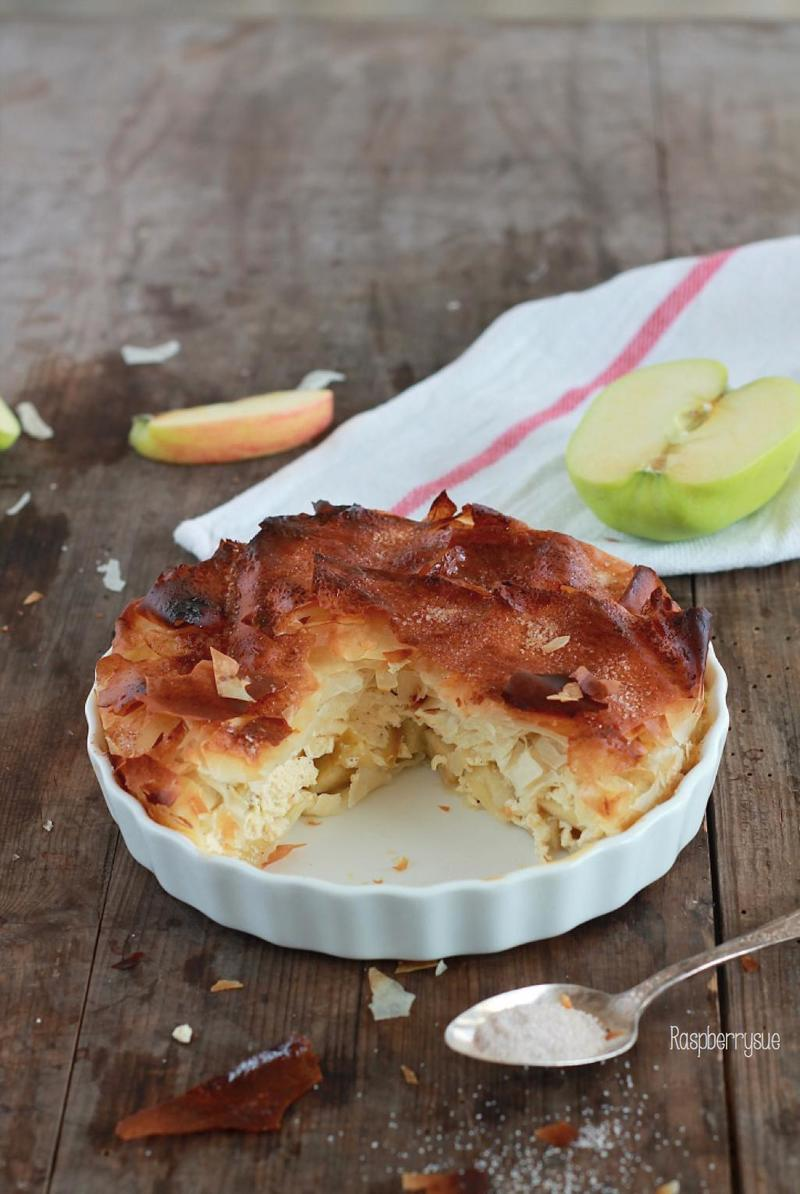 Rezept Apfelstrudel-Kuchen