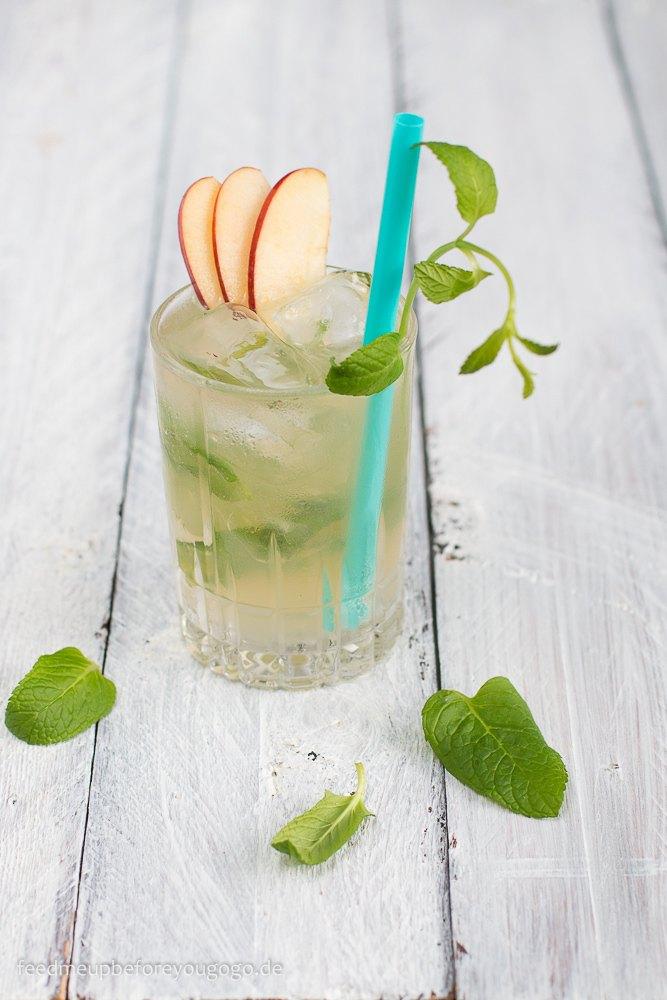 Rezept Apple Honey Mule mit Minze