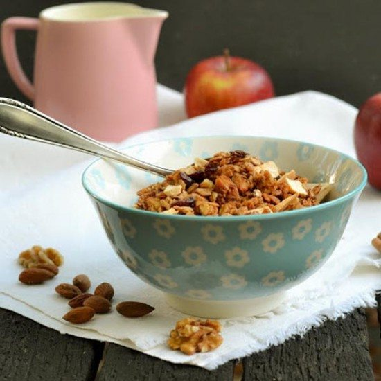 Rezept Apple Pie Granola