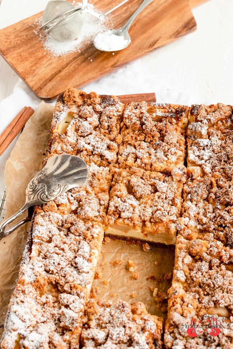 Rezept Applecrumble-Cheesecake