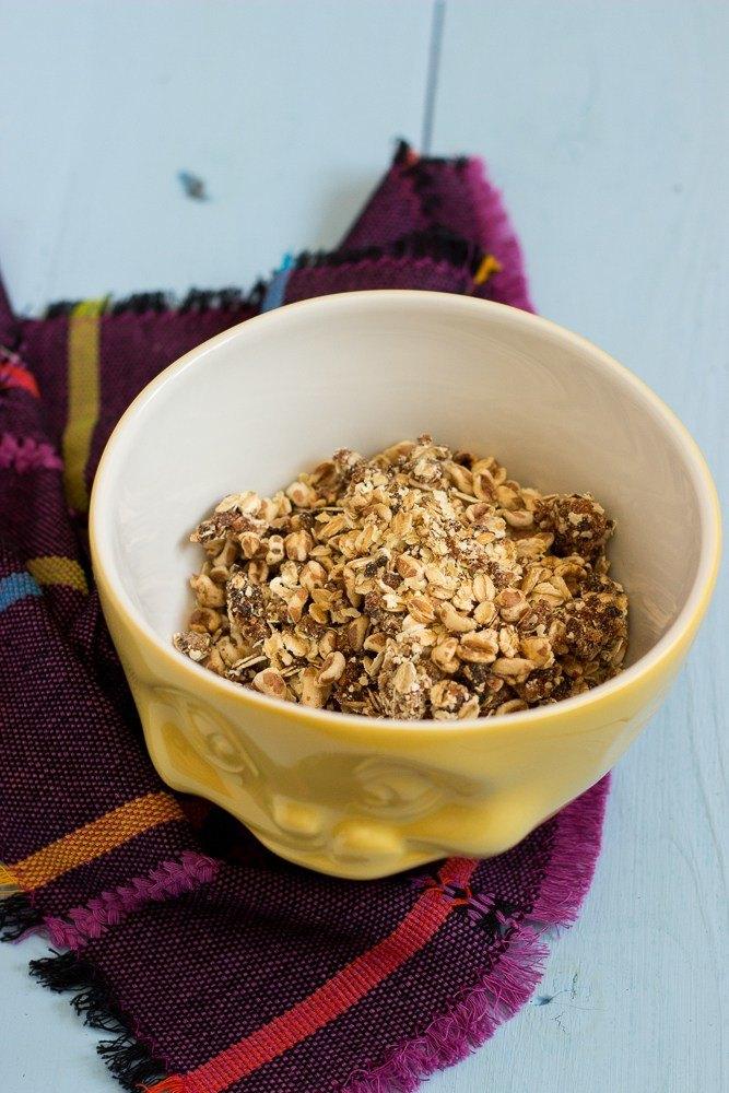 Rezept Aprikosen-Kokos-Müsli