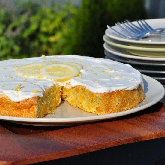 Rezept Aprikosen Polenta Kuchen