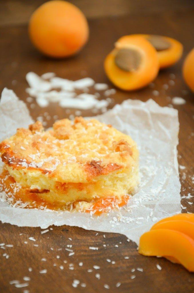 Rezept Aprikosen-Quark-Crumble mit Kokos
