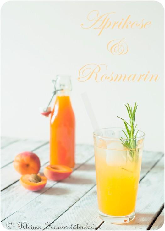 Rezept Aprikosen-Rosmarin-Sirup