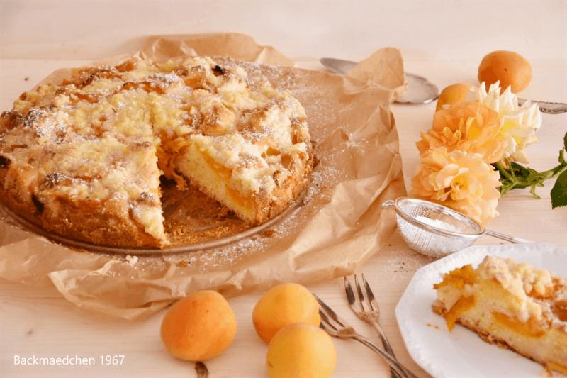 Rezept Aprikosen-Streuselkuchen